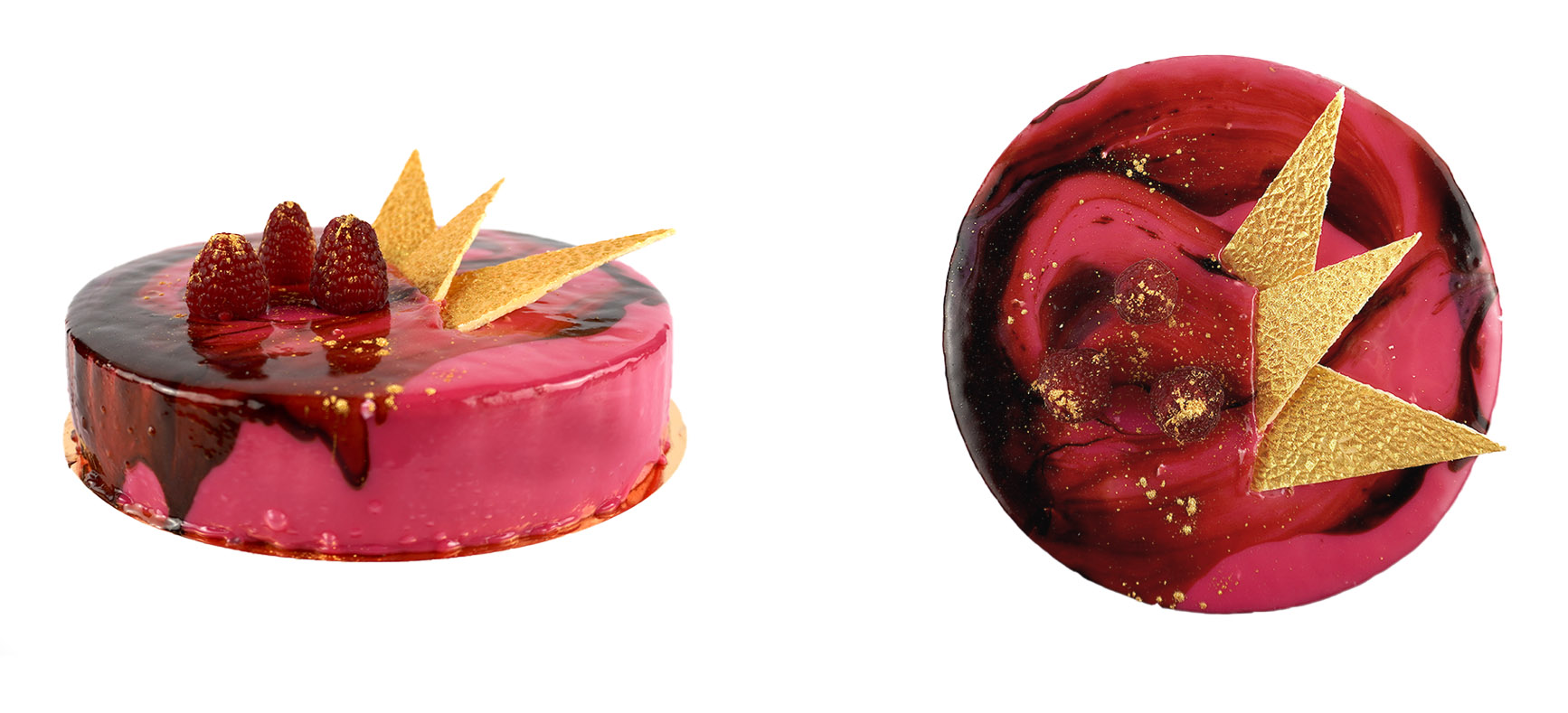 Fresh Raspberry Mousse
