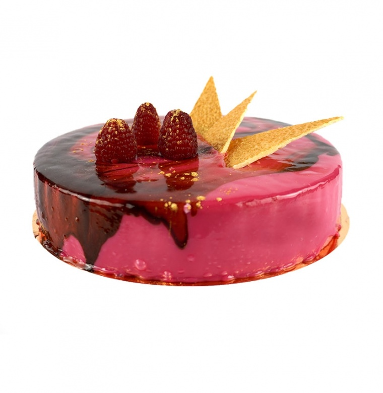 Fresh Raspberry Mousse