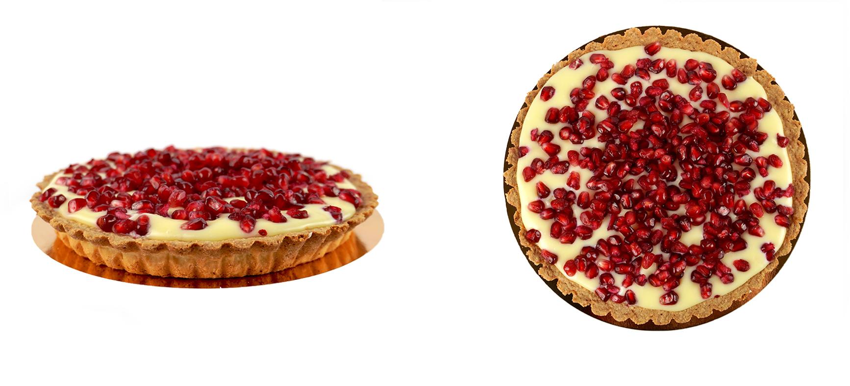 Tarta White Pomegranate