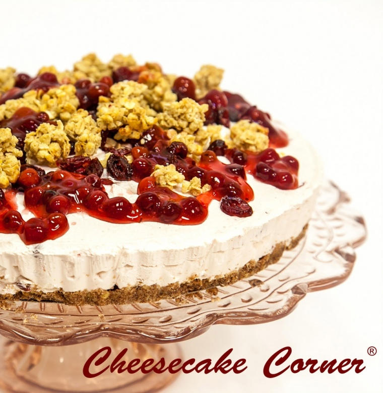 Cranberry-yoghurt